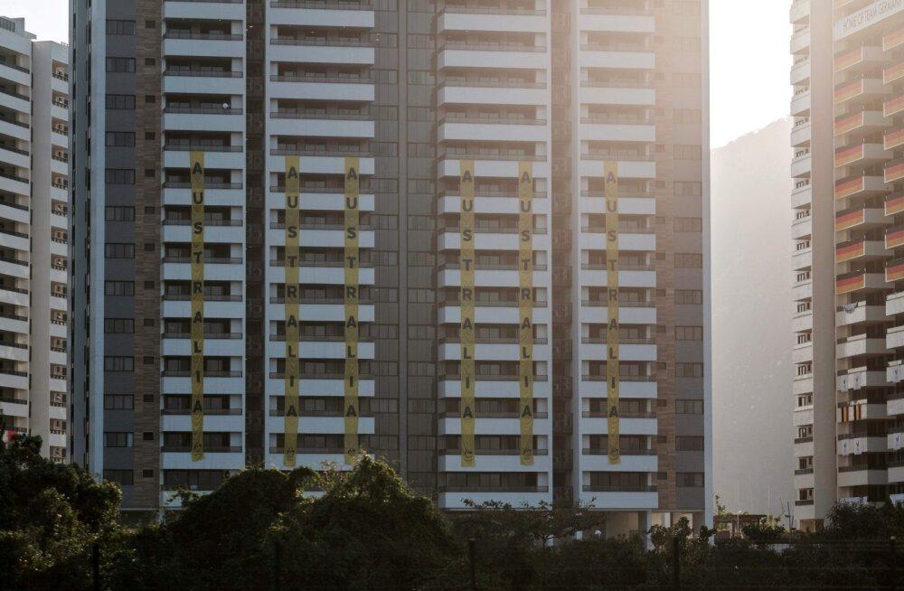 Austraalia koondise hotell Rio de Janeiros