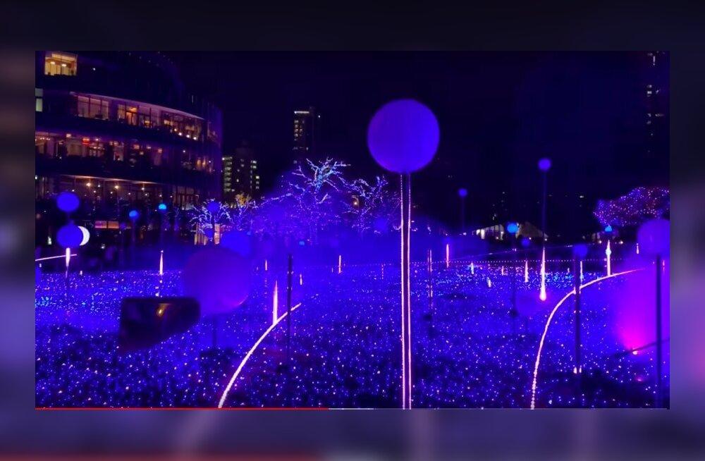 ВИДЕО | Какая красота! Смотрите, как прошло Рождество в Токио