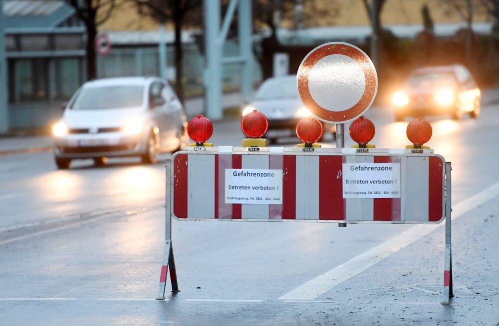 ФОТО: В Германии из-за бомбы времен Второй мировой эвакуируют более 50 тысяч человек