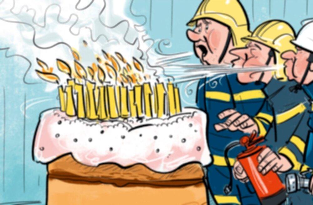 Palju õnne tuletõrjele!