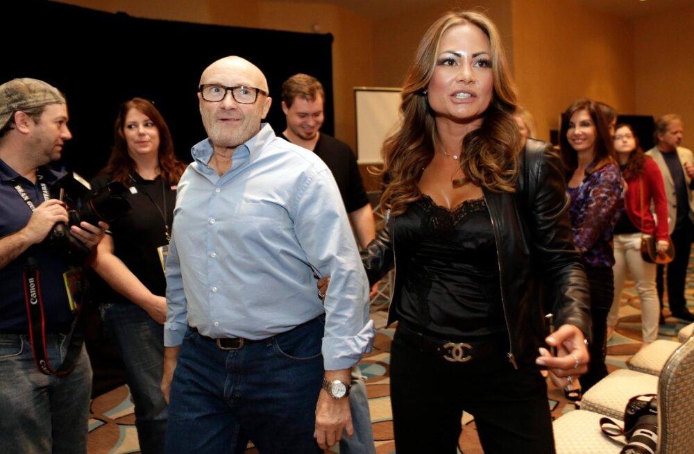 Phil Collins ja Orianne Cevey