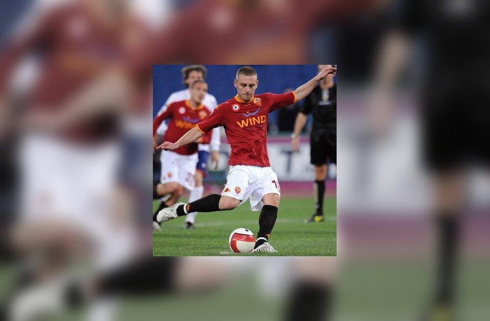 AS Roma mängija Daniele De Rossi