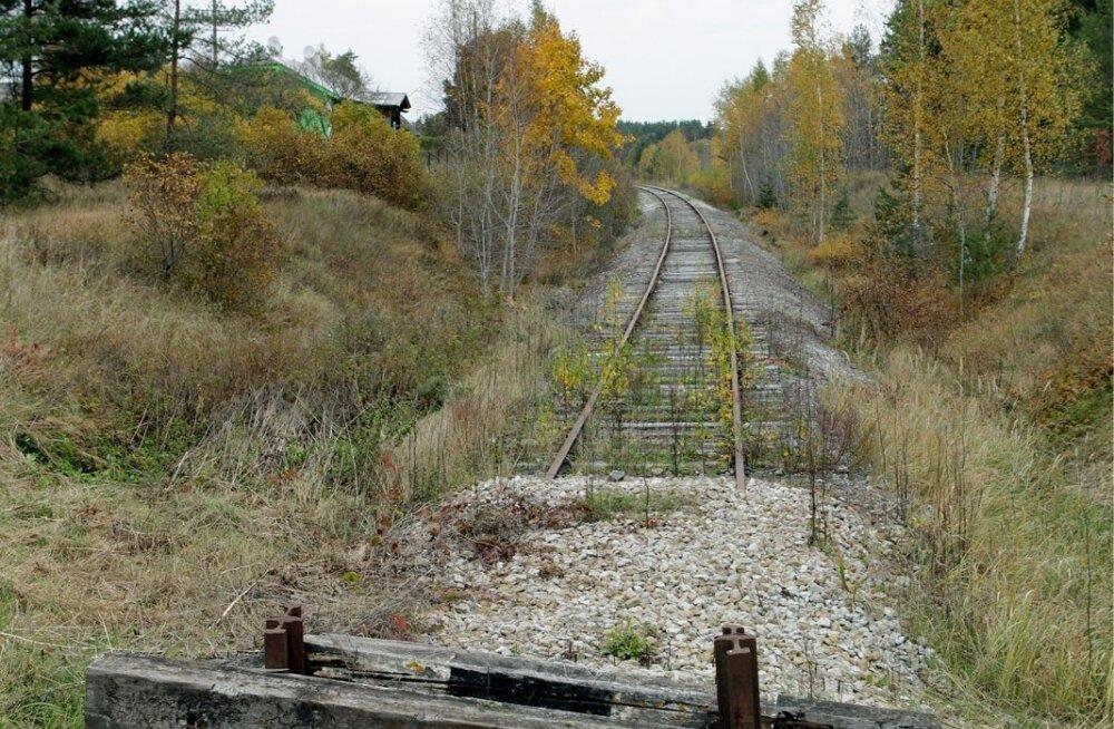 Tallinn - Haapsalu raudtee Riisipere lõik