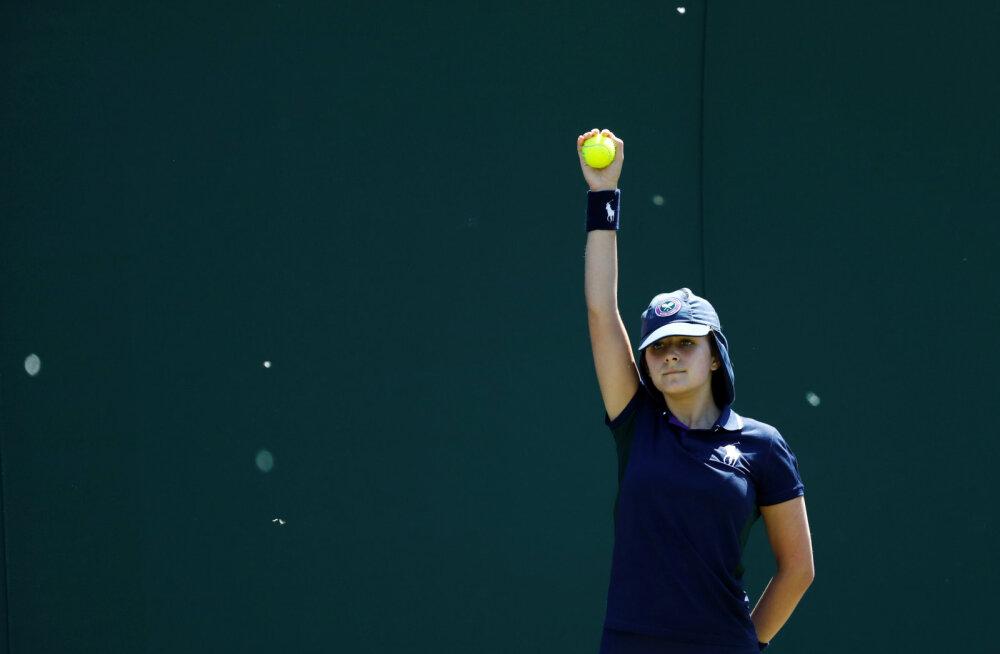Wimbledon hakkab pallipoistega ülbitsevaid mängijaid karmilt karistama