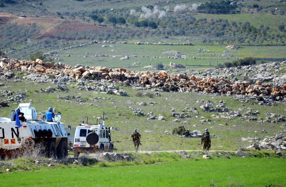 Eesti jalaväelased Liibanonis naasid siniselt joonelt põhibaasi