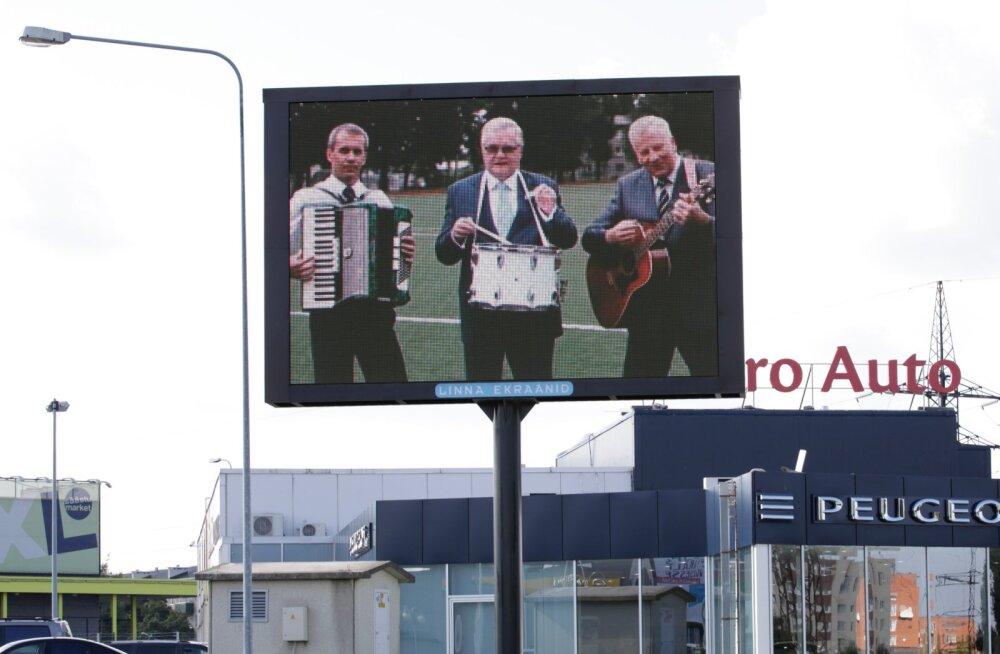Linna ekraan -  Savisaar kutsub Nõmme staadionit avam