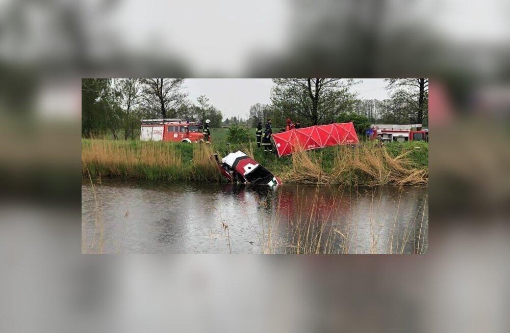 Traagiline avarii Poolas toimunud rallil.