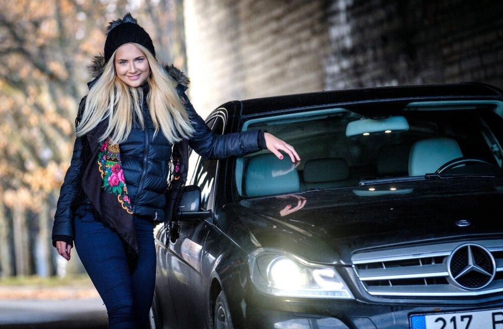 Brigitte Susanne Hunt ja ta auto