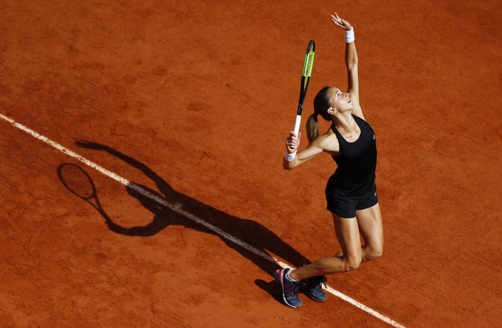 EDETABEL   Kanepi homne vastane Petra Martic on turniiri üks suuremaid servijaid