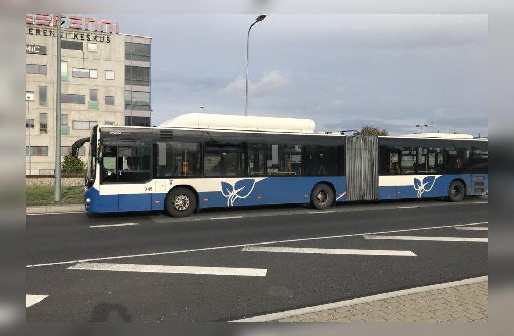 В Таллинне был задержан нетрезвый водитель рейсового автобуса
