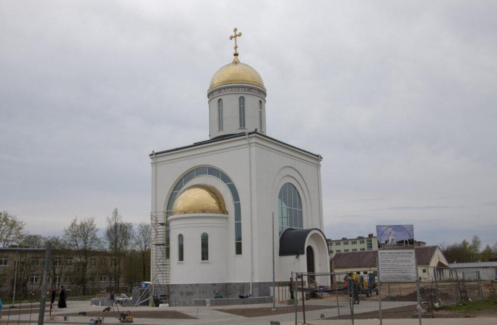 В пятницу в Нарве освятят нижний придел Храма во имя святых Кирилла и Мефодия