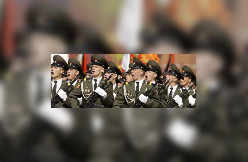 Moskva võiduparaadil osaleb 9000 sõjaväelast