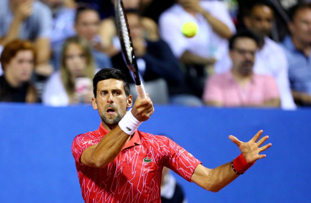 Maailma esireket Novak Djokovic nakatus koroonaviirusesse, serblane keeldus esialgu testimisest