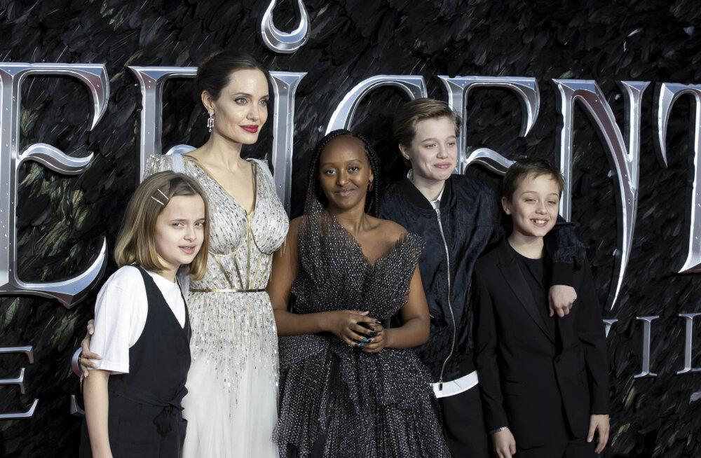 Mida sina 14-aastaselt tegid? Angelina Jolie teismeline kasutütar näiteks hakkas ehtedisaineriks