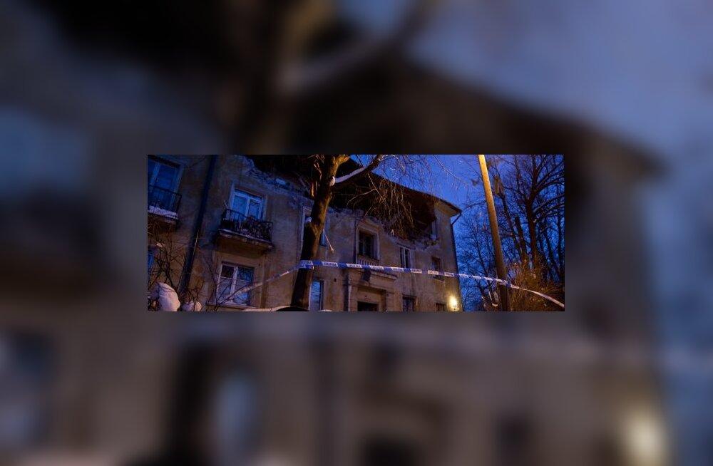 Plahvatus Süsta tänaval
