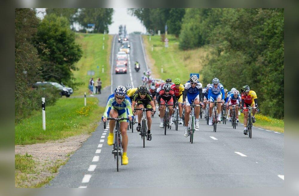 Kes Balti Keti velotuuril osalevatest ratturitest on Twitteris popim?