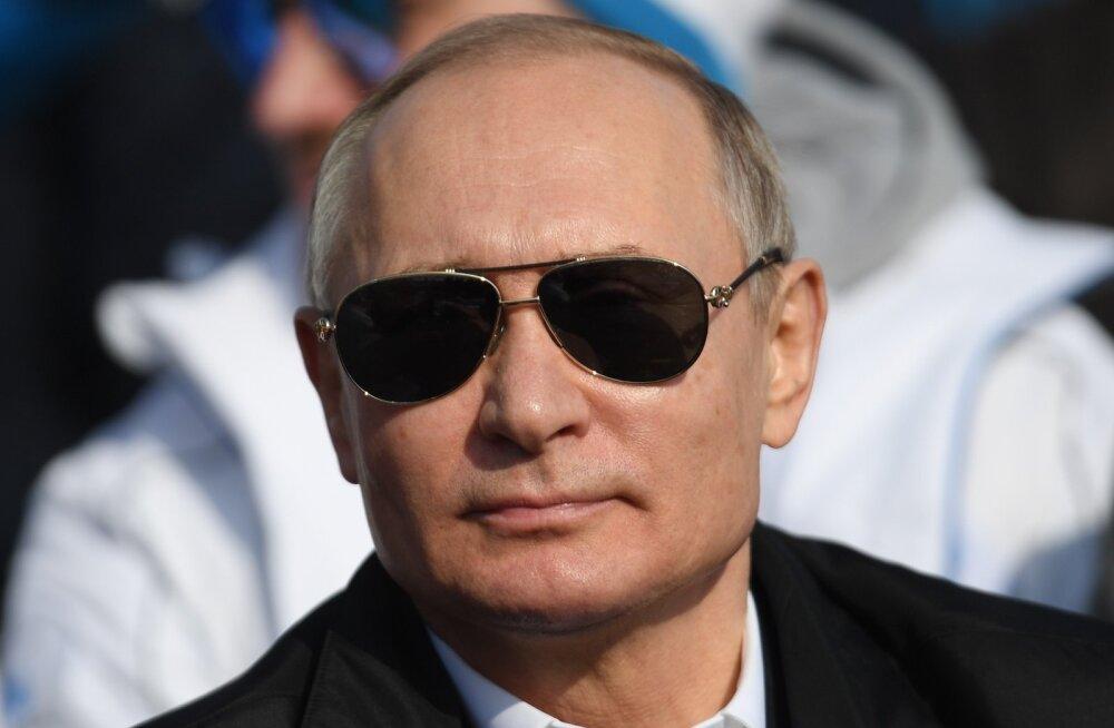 Putin: Vene vastuluure paljastas aastaga ligi 600 spiooni