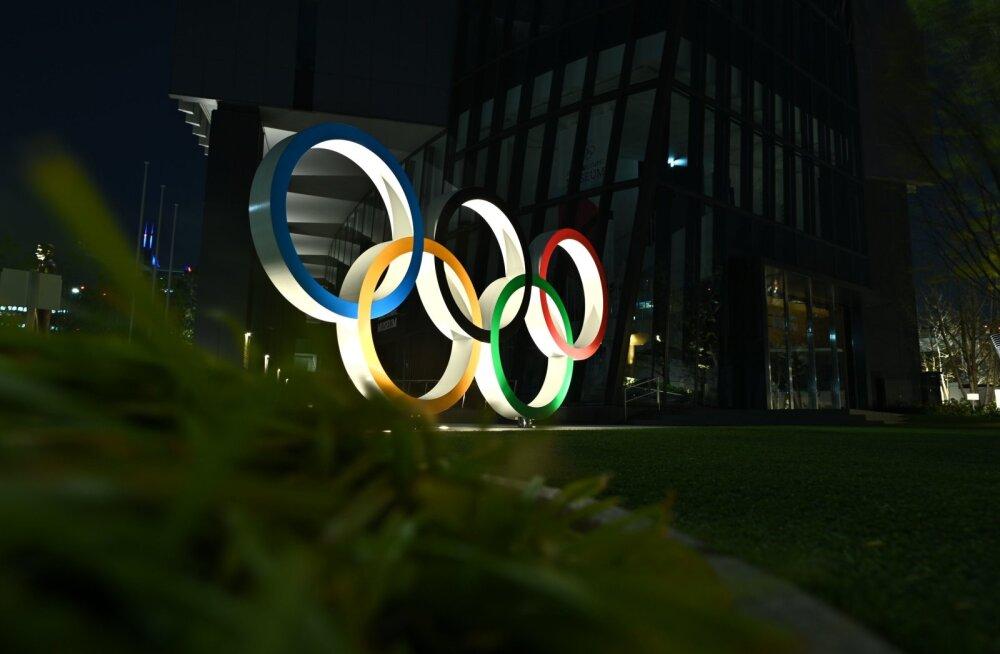 Tokyo olümpiamängude kohale tõusevad tumedad pilved.