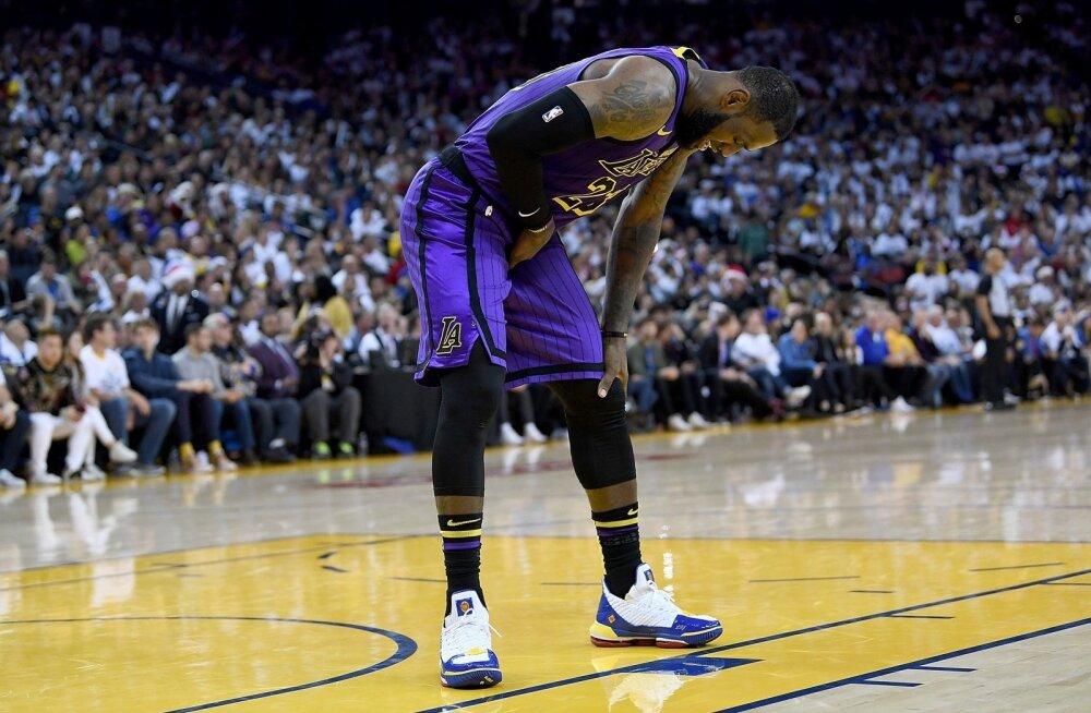 LeBron James vigastas kubemelihast.