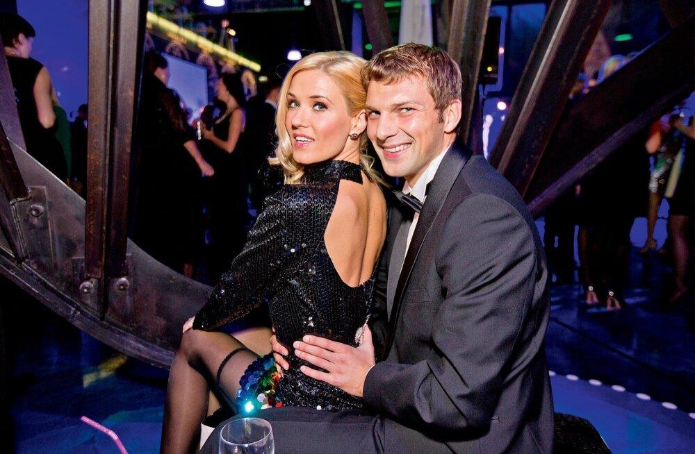 Ithaka-Maria Harito ja Aleksei Savitski aastal 2014. TV3 sünnipäeval