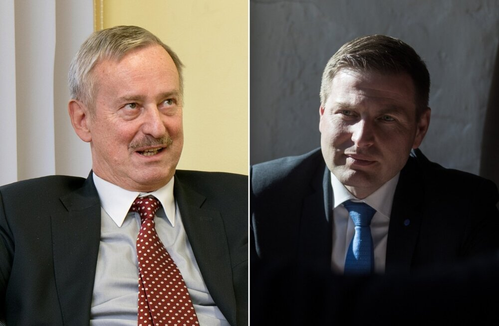 Siim Kallas ja Hanno Pevkur