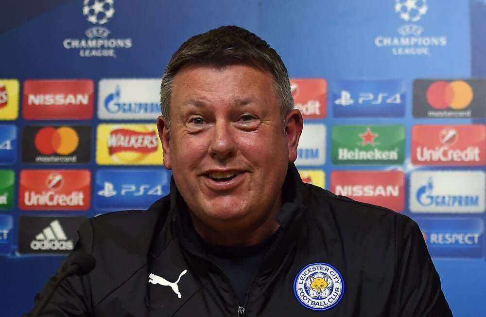 Leicesteri peatreener Craig Shakespeare