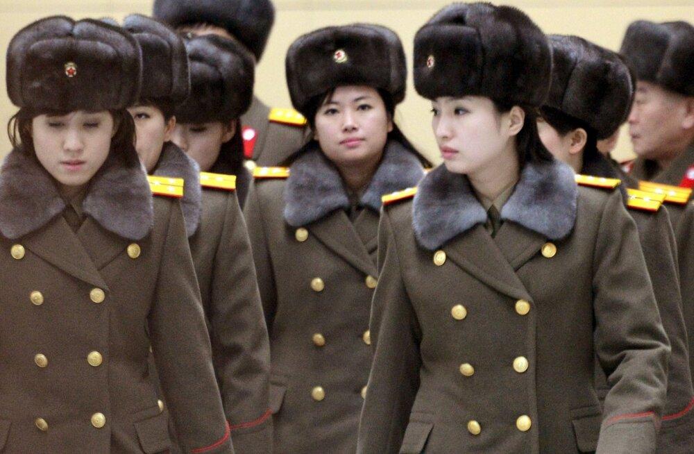 Allikas: Hiina tsensuur keelas Põhja-Korea tüdrukutebändi esinemise liiga Ameerika-vastaste sõnade pärast