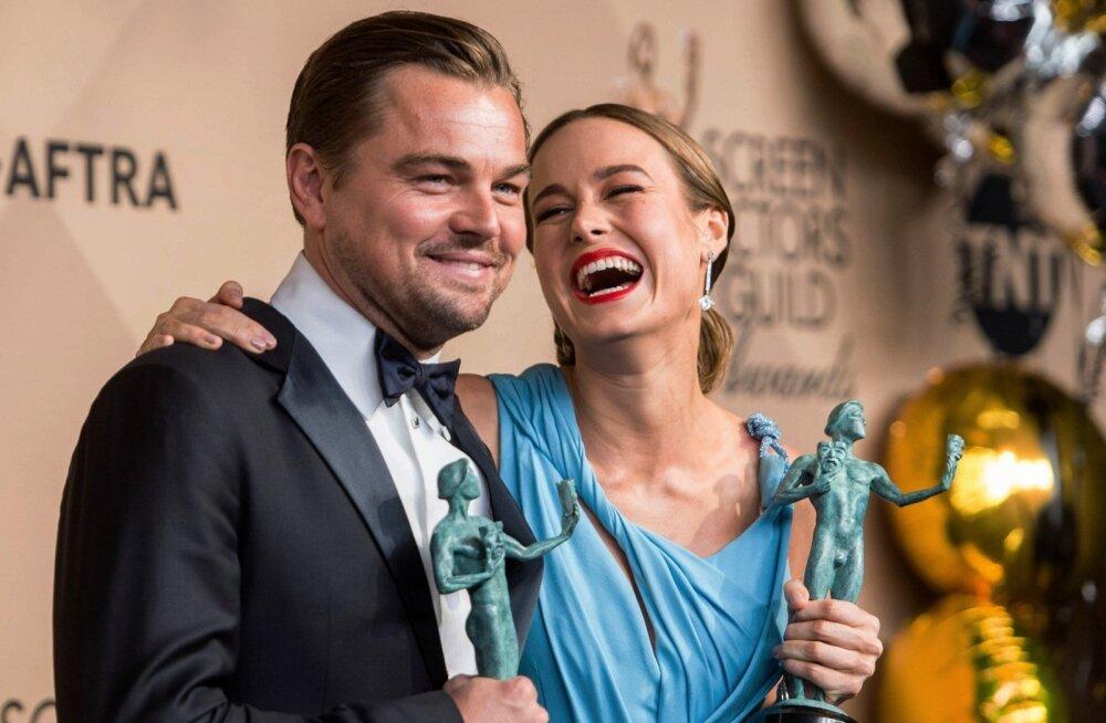 Leonardo Dicaprio ja Brie Larson