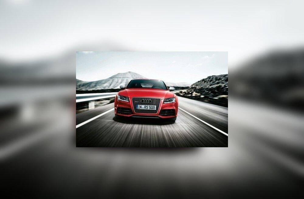 FOTOD: Audi esitles RS5 kabriolettversiooni
