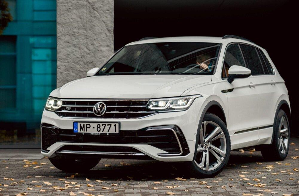 Uuenenud Volkswagen Tiguan jõudis Eestisse