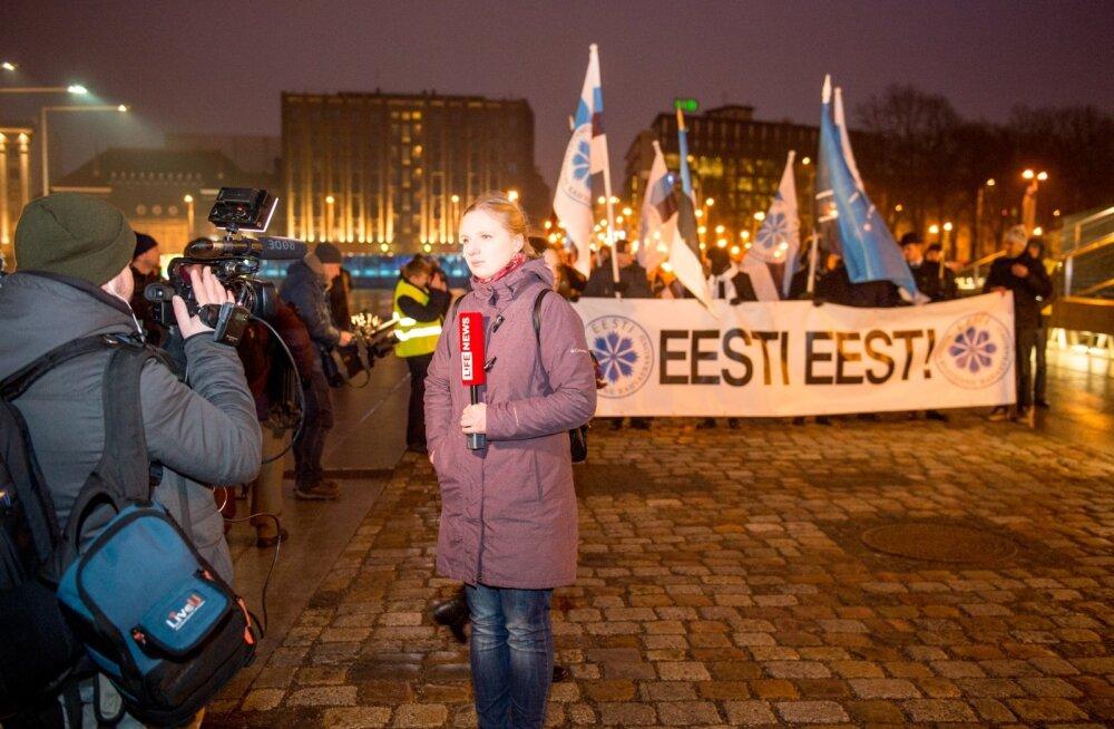 EKRE korraldatud marss