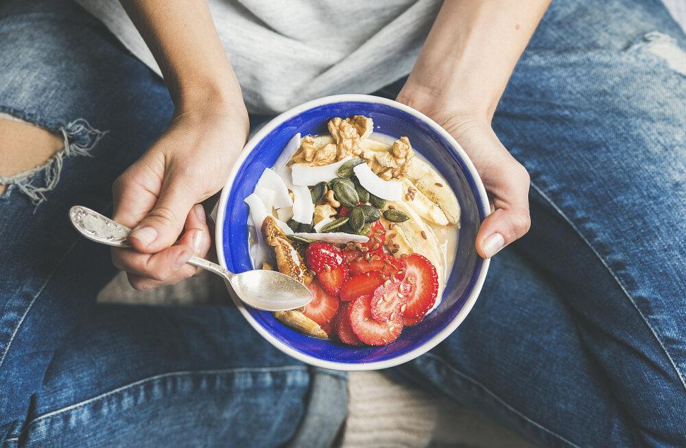 TÄPNE NÄDALAMENÜÜ, kui tahad langetada kaalu kiudainerohke dieedi abil