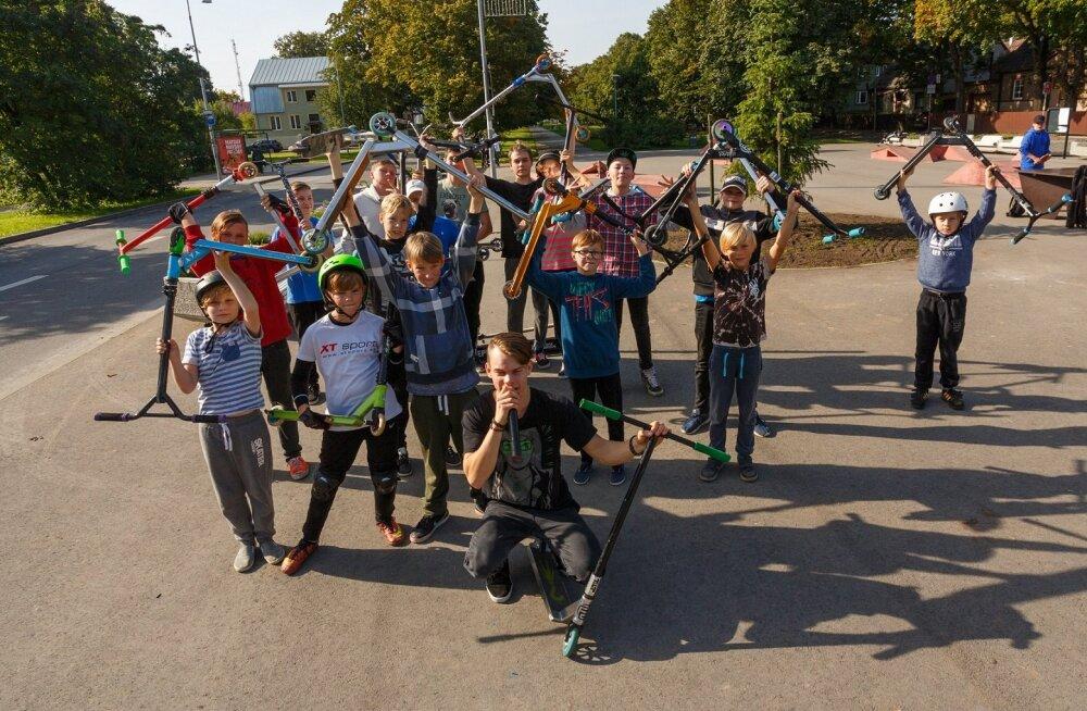 В Пыхья-Таллинне построят новый скейт-парк