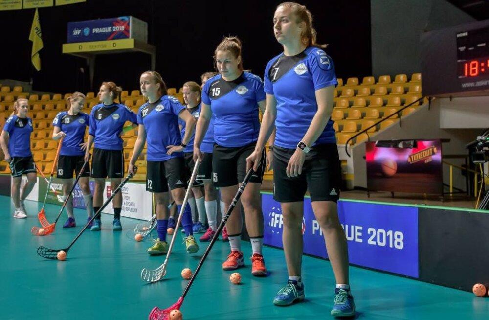 Eesti naiste saalihokikoondis alustab MM-finaalturniiri mänguga Austraalia vastu