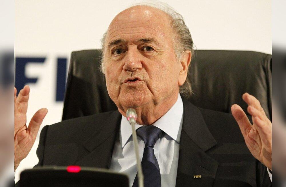 FIFA president Blatter: valige mind tagasi, või maailma jalgpall kannatab