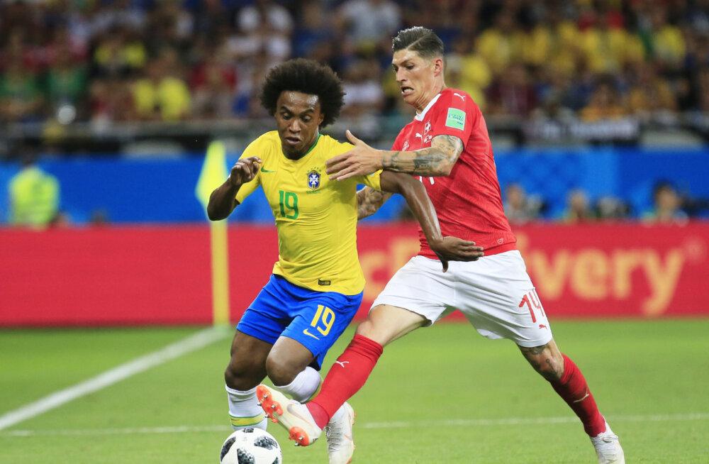 MM-i KOLUMN | Aivar Pohlak: Brasiilia-Šveits 1 : 1 – tulevase maailmameistri nadi algus