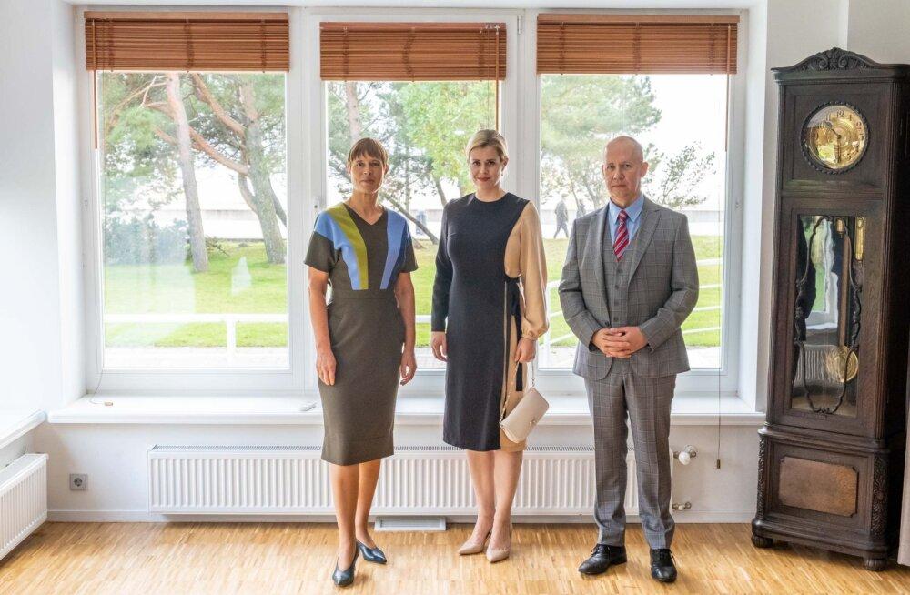 ФОТО | Президент Кальюлайд встретилась с представителями белорусской оппозиции
