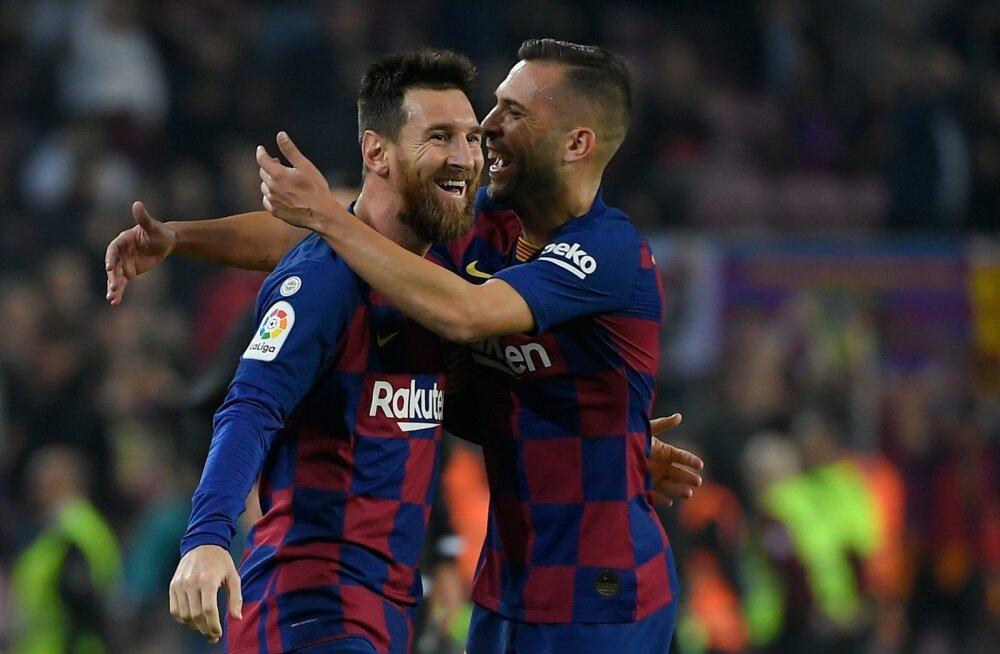 Lionel Messi sai taaskord tähistada väravate löömist.