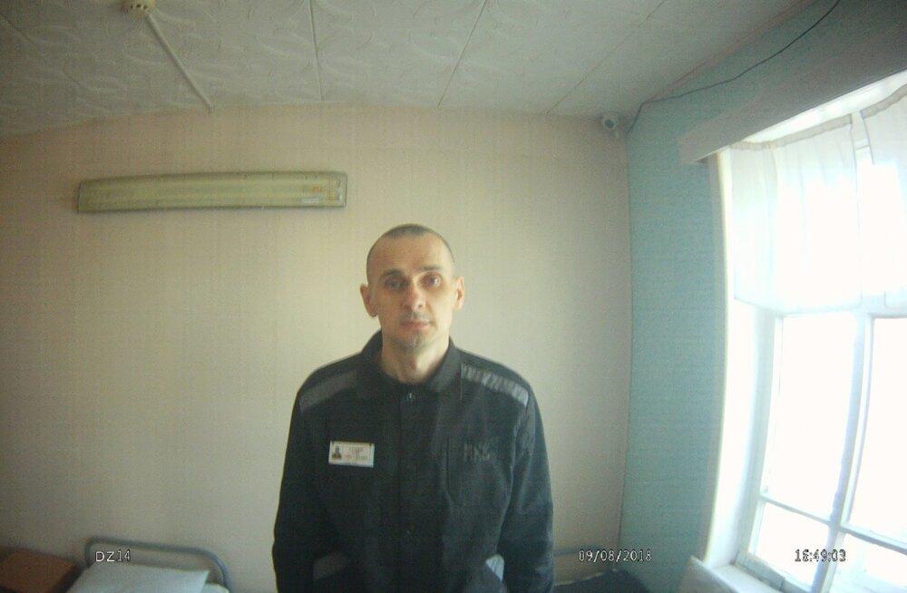 Venemaa Föderatsiooni inimõiguste ombudsmani büroo avaldas möödunud nädala lõpus Ukraina režissööri Oleg Sentsovi foto.