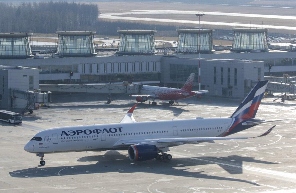 Аэрофлот приостанавливает полеты из Таллинна в Москву c 19 марта
