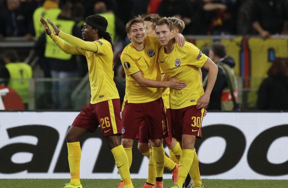 Praha Sparta jalgpallurid