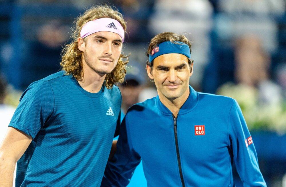 """Kreeka noor tennisetäht loodab murda """"Suure neliku"""" võiduseeriat"""