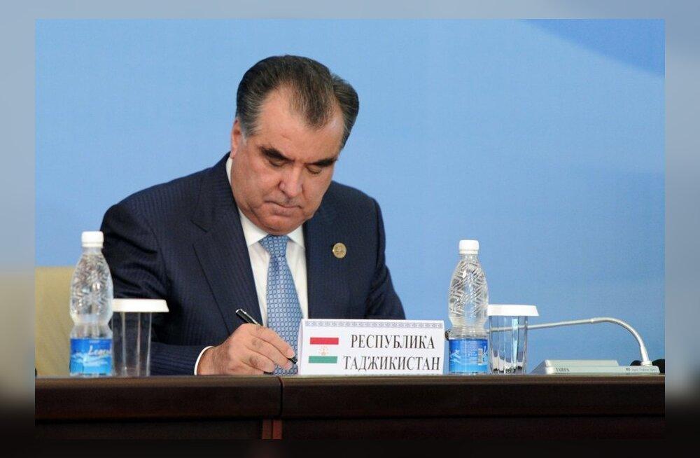 Tadžikistani presidendi sõbrad ja sugulased sõidavad 200 Saksamaalt varastatud autoga