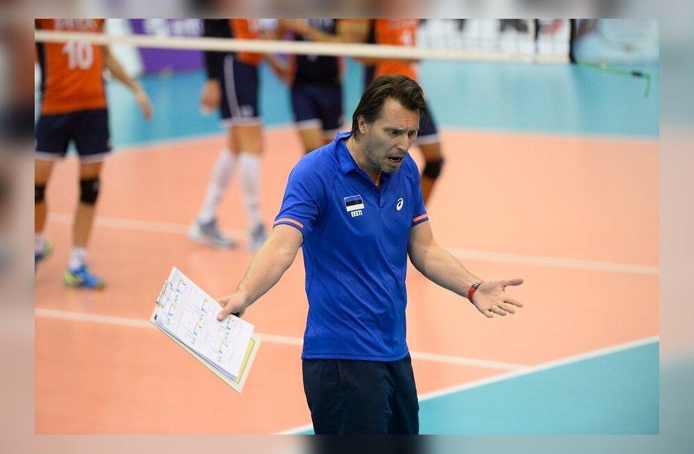 Läks tuliseks! Koondise treener eemaldati, kuid Eesti seljatas endise Euroopa meistri Hispaania 3:1!