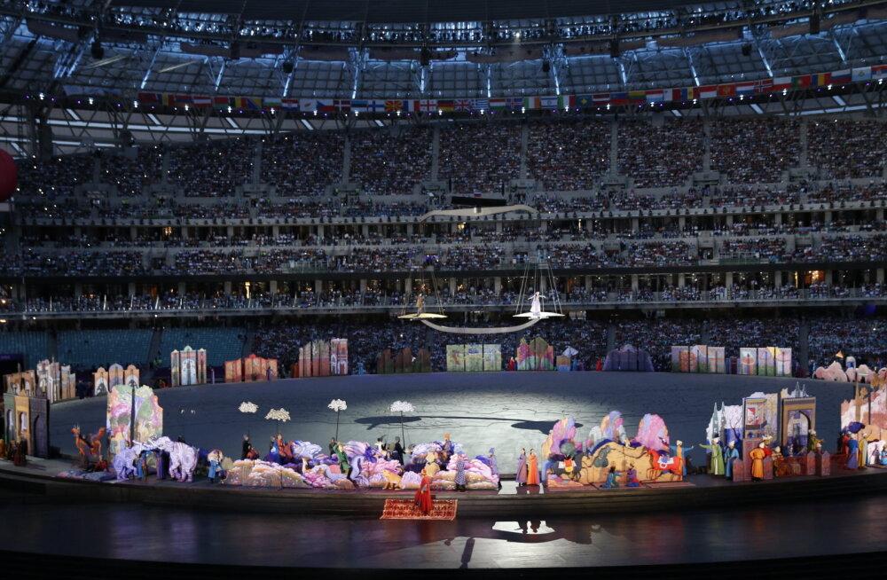 68 700 pealtvaatajat mahutav Bakuu olümpiastaadion