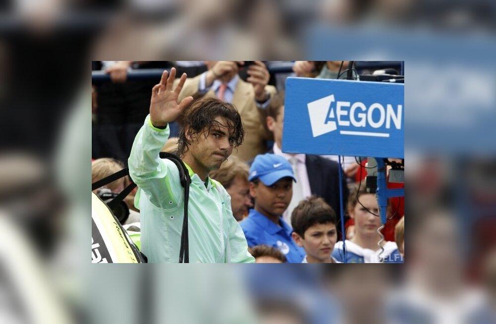 Rafael Nadali ja Roger Federeri finaal jääb Dohas ära