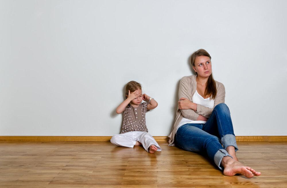 Naine kurdab: mu laps on harjunud, et mind kuulama ei pea, sest issi lubab kõike ja allub igale provokatsioonile