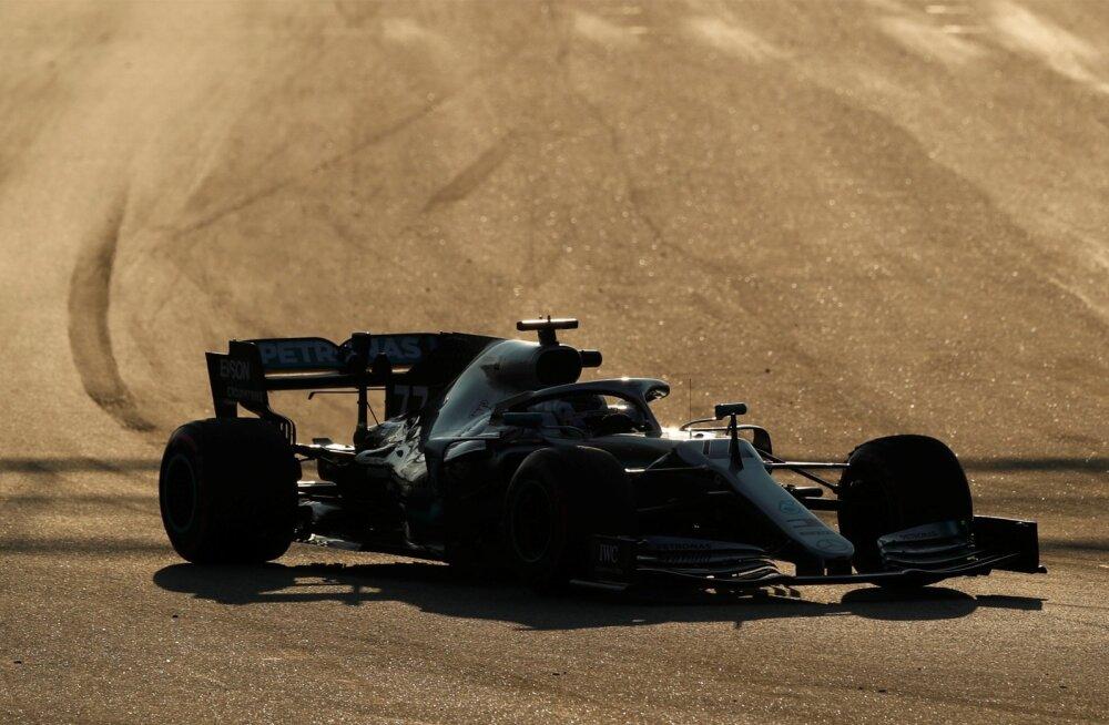 Valtteri Bottas Mercedese roolis.
