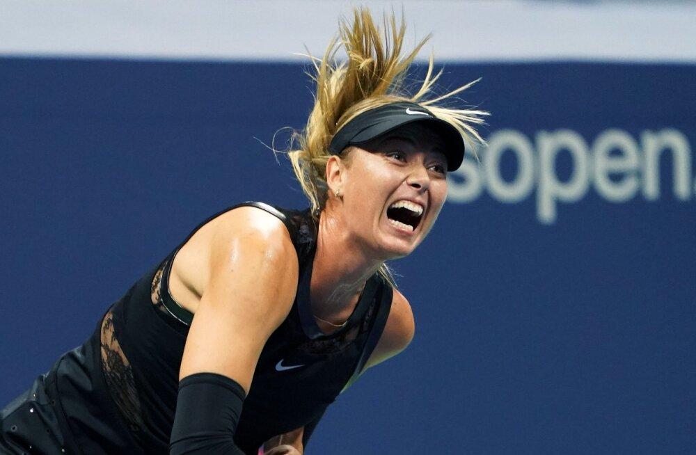 Maria Šarapova jõudis US Openil neljandasse ringi