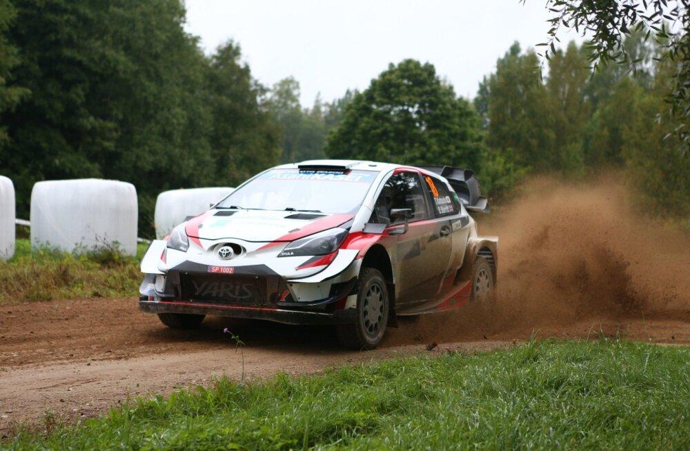 VIDEO | Jõhker! Rally Estonial Toyotaga head võistlust teinud Katsuta keeras auto üle katuse